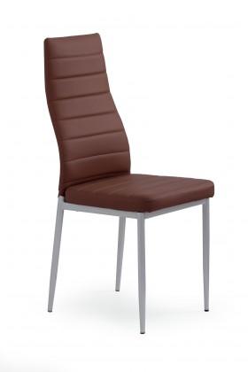 Jídelní židle K70 (tmavě hnědá)