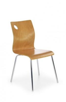 Jídelní židle K81  (olše, chrom)