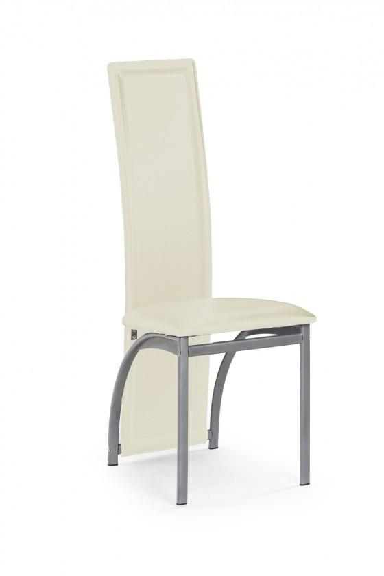Jídelní židle K94  (eco kůže béžová, šedá)