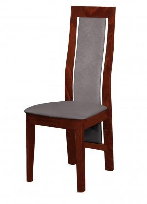 Jídelní židle Kanzas - jídelní židle (dřevo - sołtysiak/potah - látka)