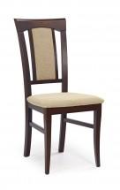 Jídelní židle Konrad béžová, ořech