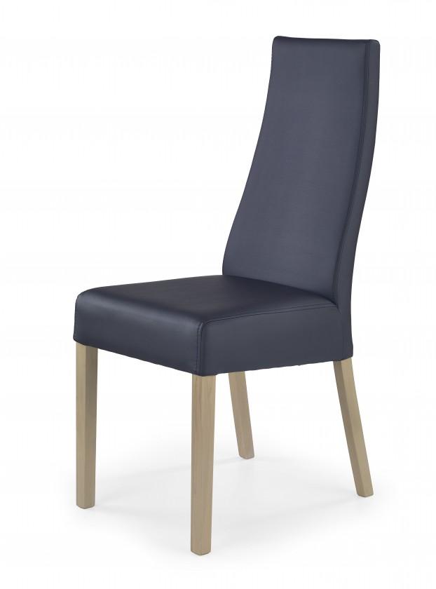 Jídelní židle Kordian - Jídelní židle (černá, dub sonoma)