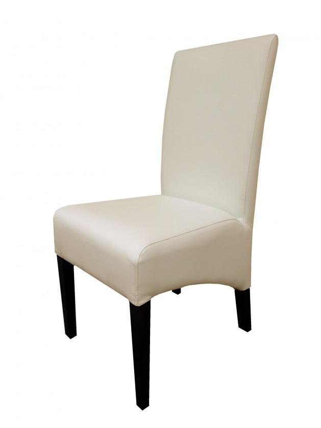 Jídelní židle Link - Jídelní židle (dub čokoládový / béžová deluxe 110)