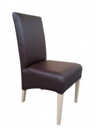 Jídelní židle Link - Jídelní židle (dub sonoma / hnědá deluxe 107)