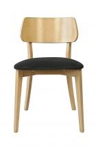 Jídelní židle Medal dub, černá