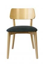 Jídelní židle Medal dub, šedá