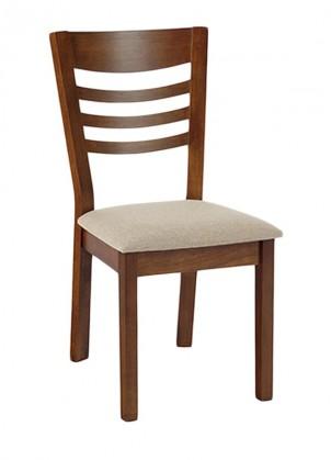 Jídelní židle Melisa(ořech/potah krémový)