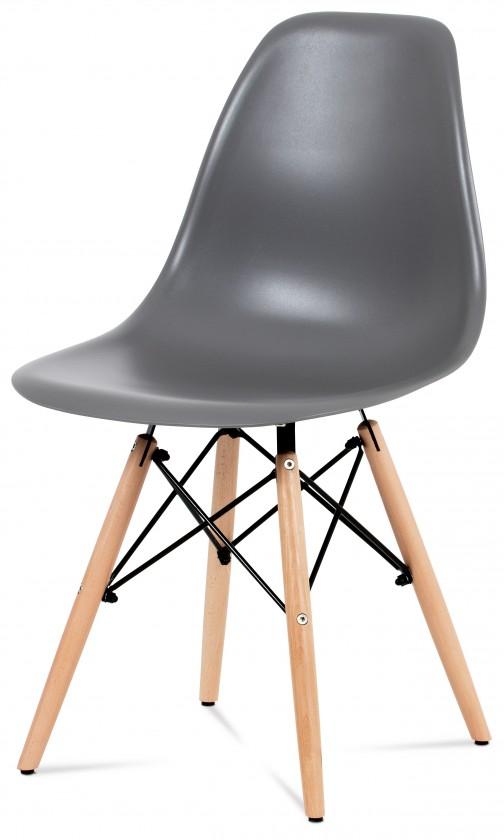 Jídelní židle Mila - Jídelní židle šedá