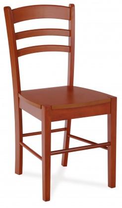 Jídelní židle MILIS(kaučukovník, moření třešeň)