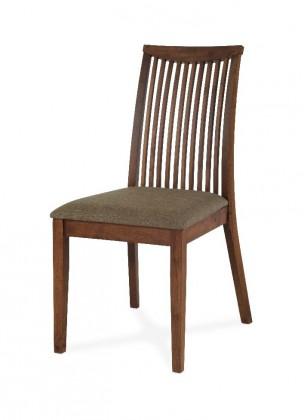 Jídelní židle Misty(ořech,  potah pískový)