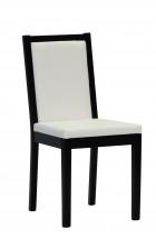 Jídelní židle Napoli (wenge/béžová) - II. jakost
