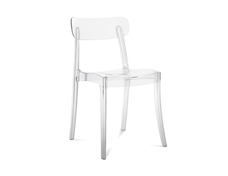 Jídelní židle New Retro - Jídelní židle (průhledná)