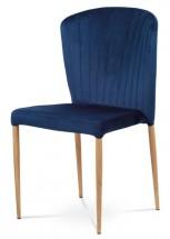 Jídelní židle Nitte dub, modrá