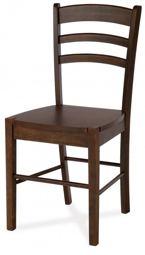 Jídelní židle ORGORO(kaučukovník, moření ořech)