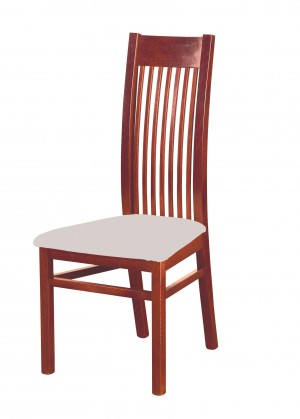 Jídelní židle Patrycja - jídelní židle (dřevo - ořech světlý/potah - látka)