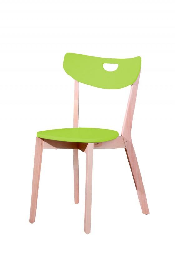 Jídelní židle Peppi  (limetová, masiv)