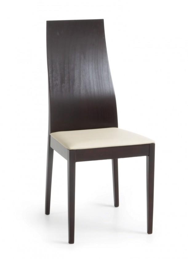 Jídelní židle Pinoza (wenge/látka antara krémová)