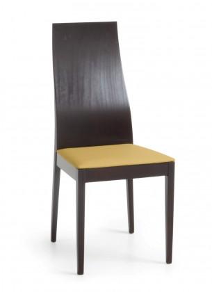 Jídelní židle Pinoza (wenge/látka antara světle hnědá)