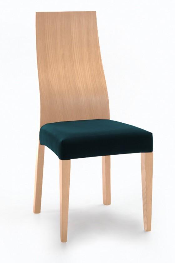 Jídelní židle Pinta  (dub/navara petrolejová)