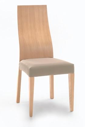 Jídelní židle Pinta  (dub/navara světle béžová)