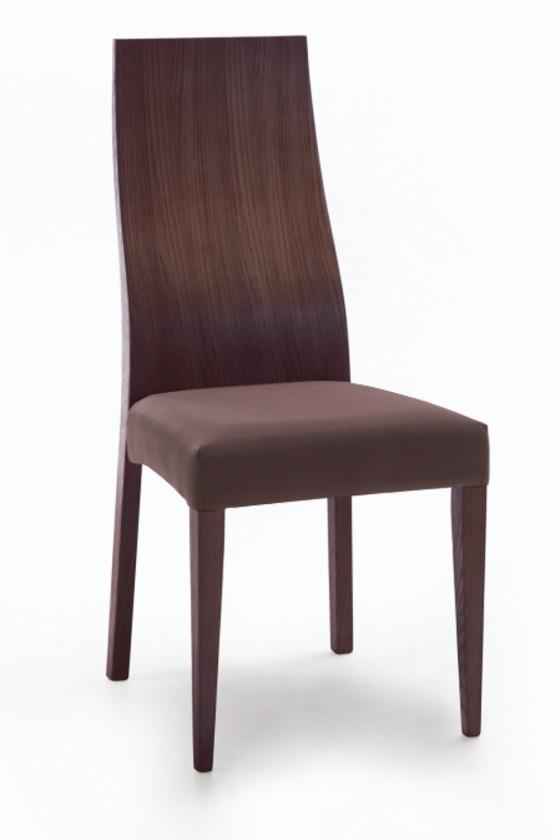 Jídelní židle Pinta  (jasan/antara tmavě hnědá)