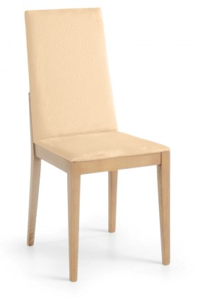 Jídelní židle Rabida  (dub/eko kůže kaiman slonová kost)