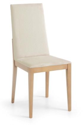 Jídelní židle Rabida  (dub/eko kůže vienna krémová)