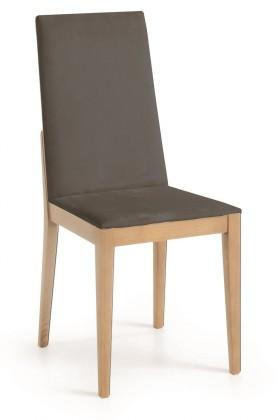 Jídelní židle Rabida  (dub/navara tmavě šedá)