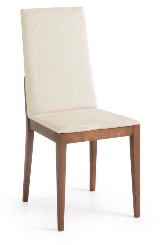 Jídelní židle Rabida  (jasan/eko kůže vienna krémová)