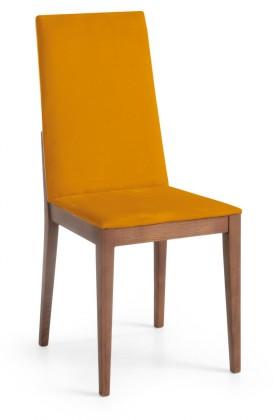 Jídelní židle Rabida  (jasan/navara hořčicová)