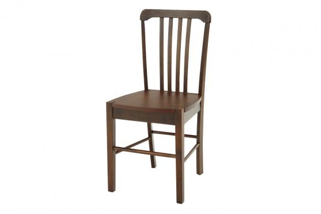 Jídelní židle SANTU(kaučukovník, moření ořech)