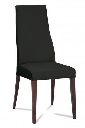 Jídelní židle Semora (wenge/eko kůže vienna černá)