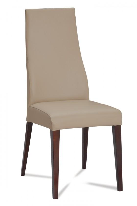 Jídelní židle Semora (wenge/eko kůže vienna hnědá)