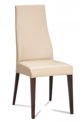 Jídelní židle Semora (wenge/eko kůže vienna krémová)