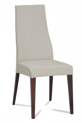 Jídelní židle Semora (wenge/eko kůže vienna šedá)
