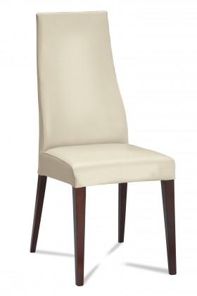 Jídelní židle Semora (wenge/látka carabu světle béžová)