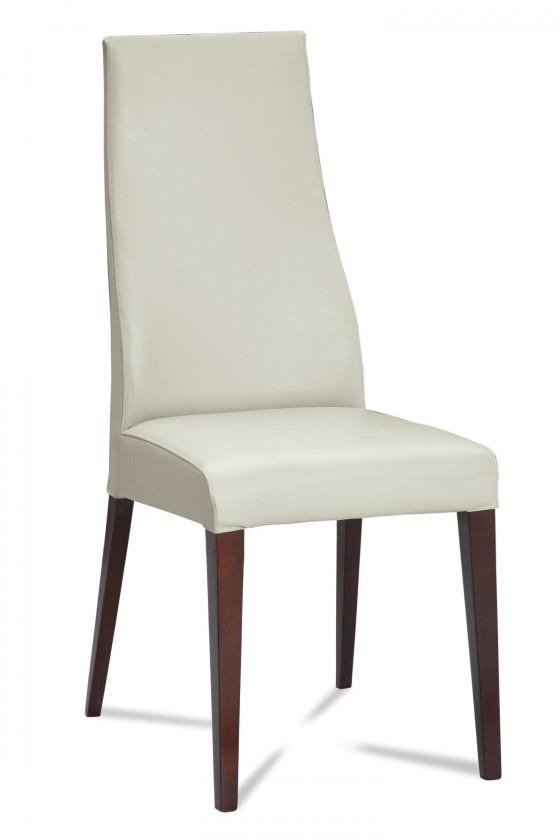 Jídelní židle Semora (wenge/látka navara světle béžová)