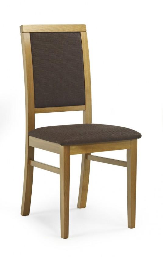 Jídelní židle Sylwek 1  (hnědá dafne 26, olše)