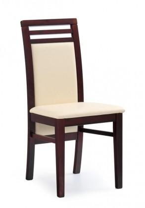 Jídelní židle Sylwek 4  (ořech/D1P)