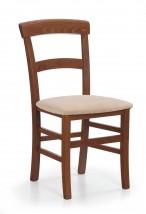 Jídelní židle Tapo  (béžová sofia 25, třešeň antik)