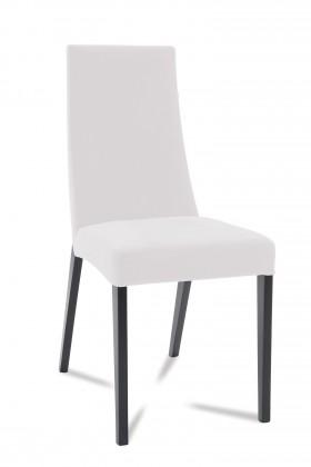 Jídelní židle Tortuga (černá/eko kůže vienna bílá)