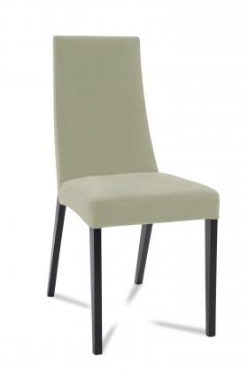 Jídelní židle Tortuga (černá/eko kůže vienna šedá)