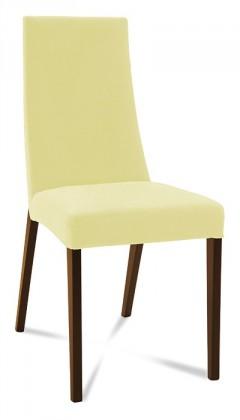 Jídelní židle Tortuga (jasan/látka antara krémová)