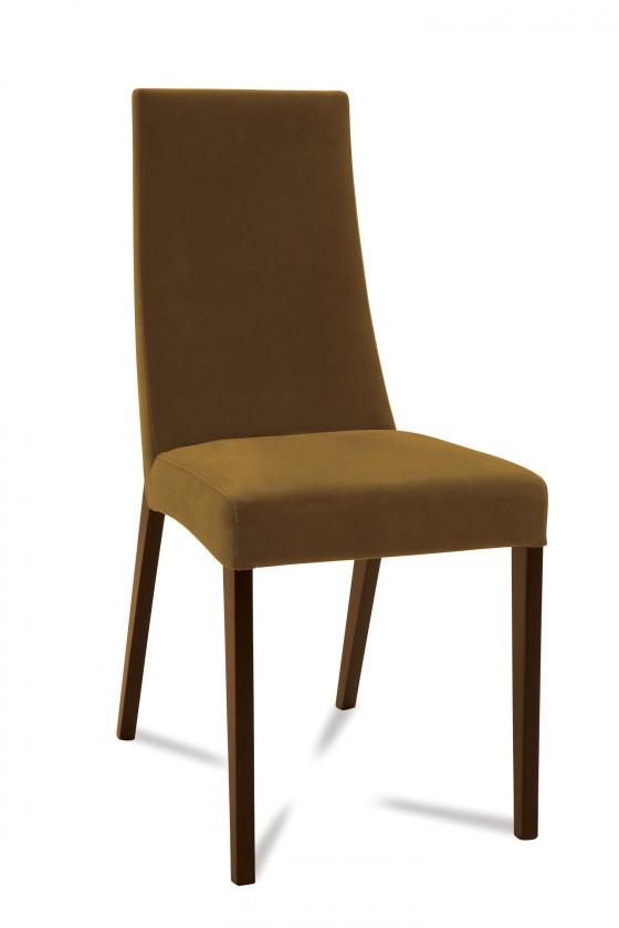 Jídelní židle Tortuga (jasan/látka carabu hnědá)
