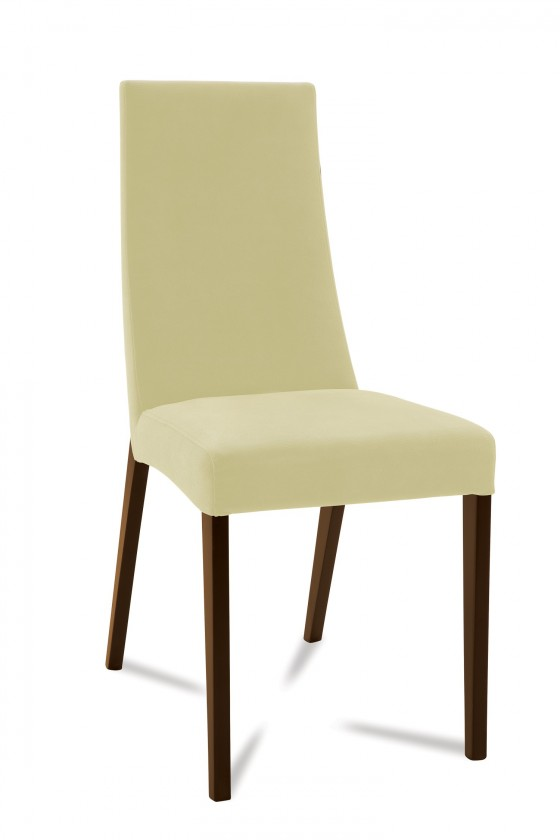 Jídelní židle Tortuga (jasan/látka carabu světle béžová)