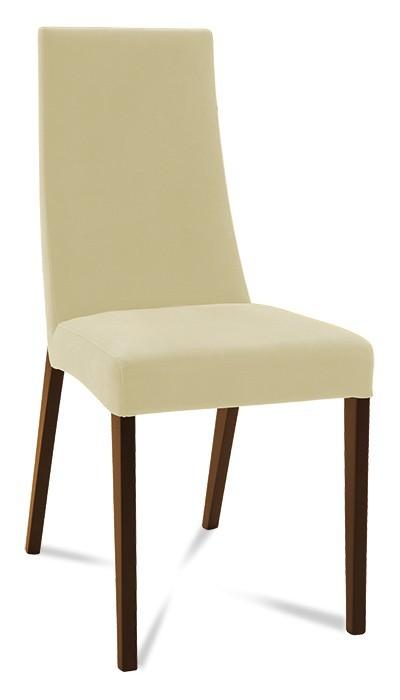 Jídelní židle Tortuga (jasan/látka navara světle béžová)