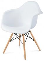 Jídelní židle Toxic bílá