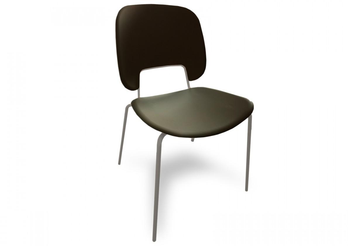 Jídelní židle Traffic - Jídelní židle (lak pískový matný, plast černá)