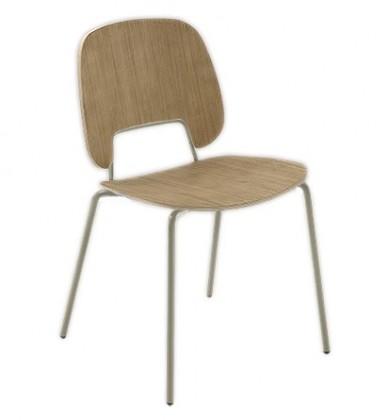 Jídelní židle Traffic - Jídelní židle (lak pískový matný, světlý dub)