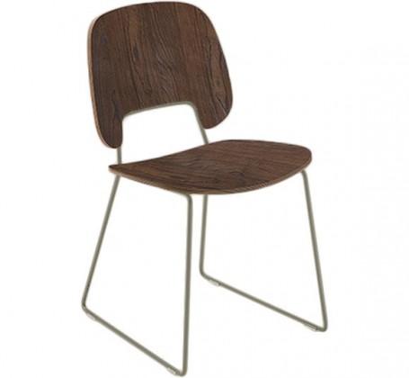 Jídelní židle Traffic-t - Jídelní židle (lak pískový mat, čokoládový jasan)